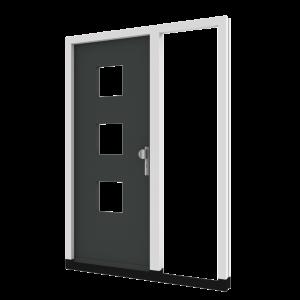 Voordeur TH05 met zijlicht rechts (binnendraaiend) | hout