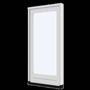 Vaste deur (buitensponning) | hout