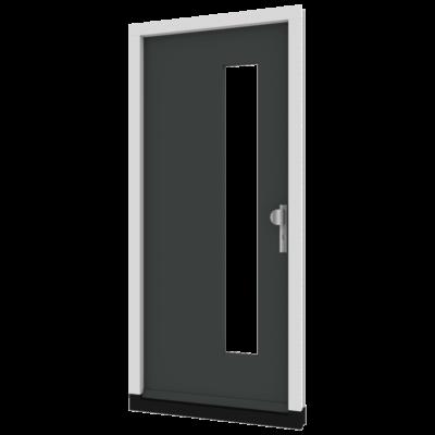 houten voordeur th02 inclusief kozijn
