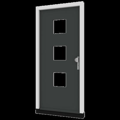 Houten voordeur TH05 inclusief deurkozijn