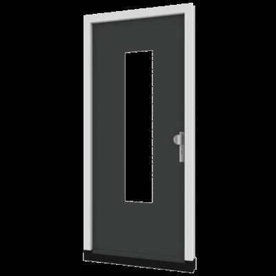 Houten voordeur inclusief kozijn model TH06