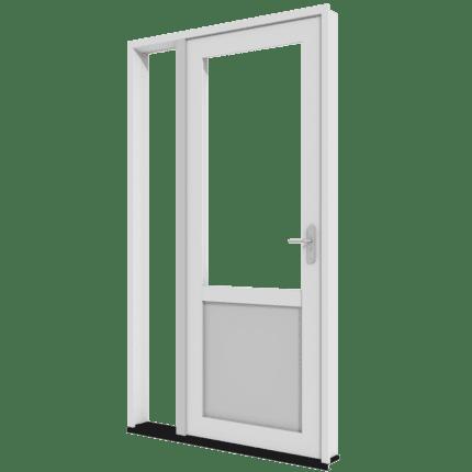 Achterdeur met zijlicht links_transparant