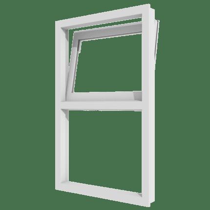 Draai-kiepraam (boven) en vast glas verticaal 2 vakken_transparant