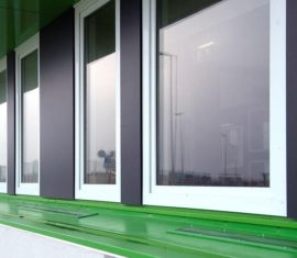 Uitbreiding: vaste ramen & paneelvulling K-VISION