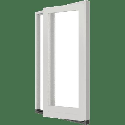 Enkele deur 2-vaks zijlicht-links