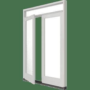 Tuindeur (stolp) met bovenlicht – buitendraaiend | hout