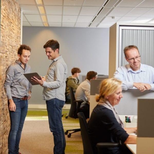 Het nieuwe kantoor van Toelevering Online