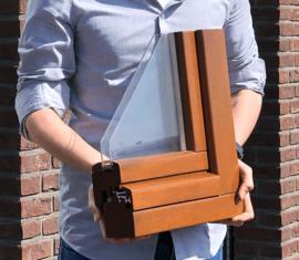 Nieuw: Meranti houtprofiel