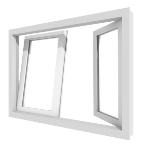 Draai-kiepraam (stolp) – binnendraaiend | kunststof