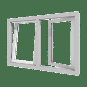 Draai-kiepraam | 2 vakken | kunststof